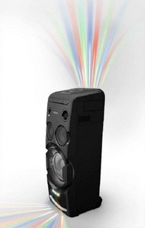 Sony MHC-V77DW High Power One Box Party Music System with built in Wi-Fi - Black