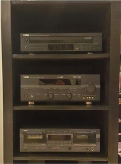 Yamaha Complete Stereo System With 4 Speakers