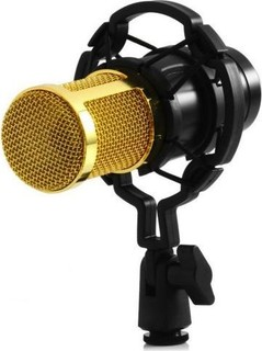 Other Microphone Mic Sound Studio for Recording Kit KTV Karaoke with Shock Mount