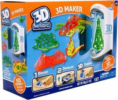 أبل ,انجليزي ,أنشطة تعليم العلوم ,3D Maker ,3D Magicسنوات فأكثر 6
