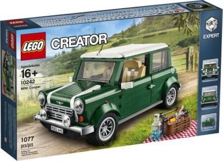 LEGO Creator Expert - Mini Copper (10242) Free Gift Teamsterz Die-Car Assorted Vehicle 2 Pk