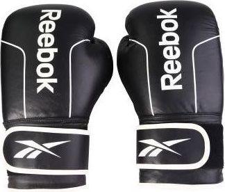Reebok Leather Boxing Gloves - Black RABX-11002BK