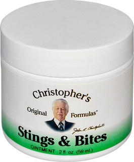 Christopher's Original Formulas, Stings and Bites مرهم 2 ونصة سا لة (59 مل)