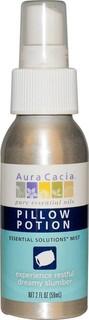 Aura Cacia, بيلو بوشن حلول ضبابية ساسية 2 وقية سا لة (59 مل)