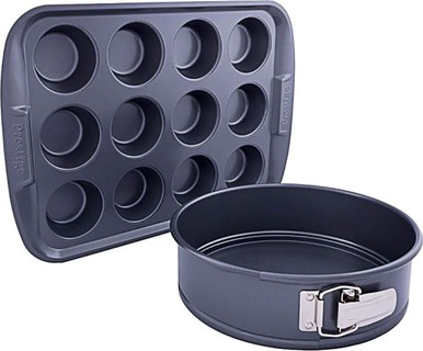 Prestige Twin Set Springform & Cup Muffin Pan PR57997