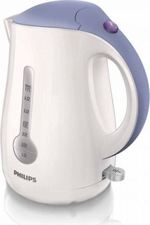 Philips Viva Kettle 2400W 1.7Litres with 1 cup indicator - HD4677 40 (White)
