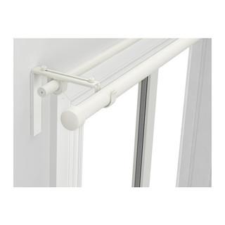 RAeCKA HUGAD Double curtain rod combination, white
