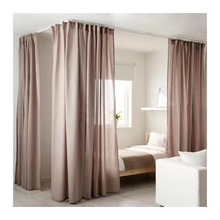 VIDGA Room divider for corner, white