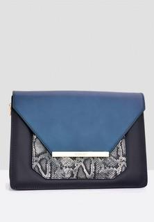 Ripani Elegant Leather Sling Bag - Blue