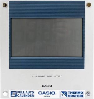 فضي , رمادي , Digital , Wall Clock , ID - 11 ثيرمو مونيتور , كاسيو