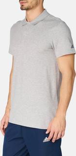 adidas essentials base polo t-shirt - Grey