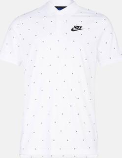 nike matchup print polo t-shirt - White