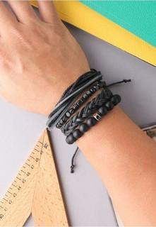 Roberto cavalli CAVALLO GENTILI Leather Bracelet