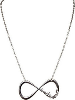 Crunchy Fashion Infinite One Direction Pendant Necklace- CFN0324 Silver