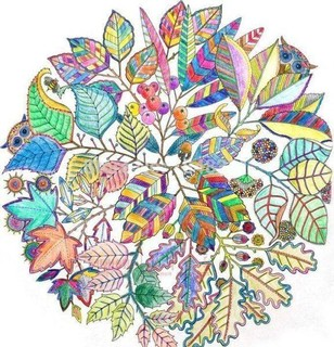 An Inky Treasure Hunt And Coloring Book Release Stress Painting Drawing Secret Garden