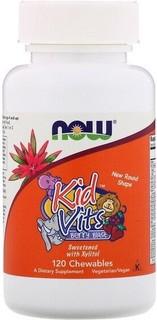 Now Foods, Kid Vits, Berry Blast, 120 Chewables