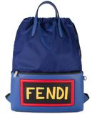 فيندي حقيبة ظهر بشعار فندي