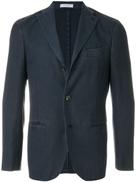 Boglioli woven slim-fit jacket