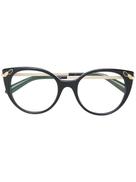 Bulgari Bvlgari cat eye glasses