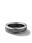 ديفد اند فيكتوريا بيكهام ديفيد Yurman تبسيط صف خاتم الماس الفرقة صف اثنين