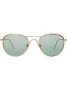 Linda Farrow 623 C6 oval sunglasses
