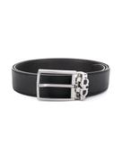 Salvatore Ferragamo Gancini detail buckle belt
