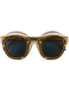 Kuboraum layered frame sunglasses