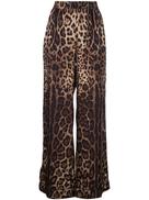 Dolce Gabanna Dolce & Gabbana leopard print track trousers