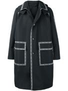 Versace Nastro Versace hooded parka