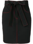 تنورة قصيرة من غرز MSGM