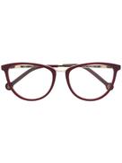 Ch Carolina Herrera cat eye frame glasses