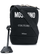 موشينو حقيبة كتف موسكينو بشعار متباين