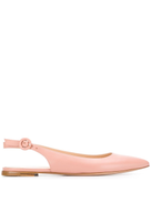 Gianvito Rossi pointed ballerina shoes