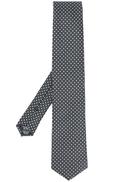 Hugo Boss BOSS square print jacquard tie