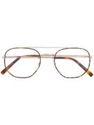 LIU JO نظارة دائرية على شكل سلحفاة