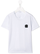 Dolce Gabanna Dolce & Gabbana Kids logo patch T-shirt