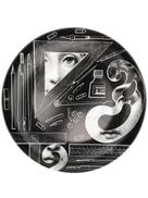 Fornasetti portrait print plate