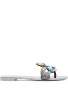 Giuseppe Zanotti Turchesite embellished slides