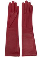 LANVIN long leather gloves
