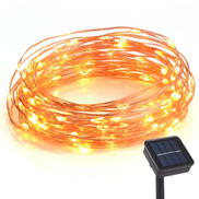 Led Solar Ed Copper Wire Lights