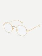 فيلويس نظارة شفافة بعدسات دائرية