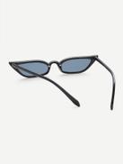 فيلويس نظارة شمسية ذات لونين عين القطة