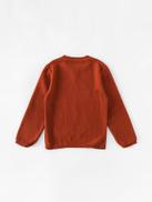 Toddler Girls Cartoon Pattern Fringe Detail Sweater