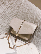 Metal Tassel Clear Bag With Inner Pouch