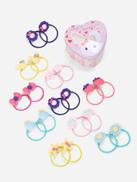 Toddler Girls Flower & Star Decorated Hair Tie 20pcs