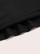 SHEIN Men Letter Detail Drawstring Waist Shorts