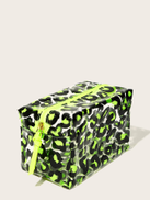 Leopard Transparent Makeup Bag