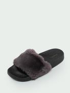 Open Toe Footbed Slide Sandals