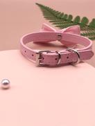 1pc Dog Bow Decor Collar