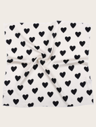 Heart Pattern Bandana